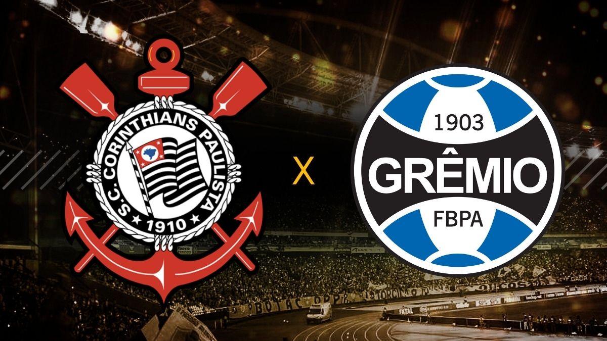 Assistir Corinthians x Grêmio AO VIVO pelo Brasileirão Série A - foto: reprodução